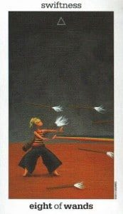 8 of Wands