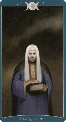 Lá Crone of Air - Book of Shadows Tarot (As Above)