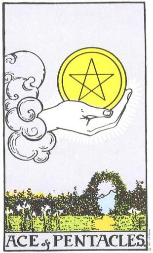 Ý Nghĩa Biểu Tượng 78 Lá Bài Tarot – Ace of Pentacles