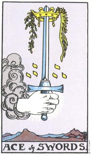 Ý Nghĩa Biểu Tượng 78 Lá Bài Tarot – Ace of Swords