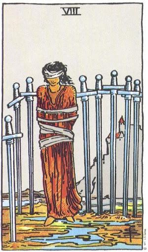 Ý Nghĩa Biểu Tượng 78 Lá Bài Tarot – Eight of Swords