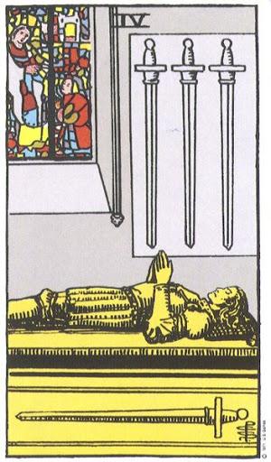 Ý Nghĩa Biểu Tượng 78 Lá Bài Tarot – Four of Swords