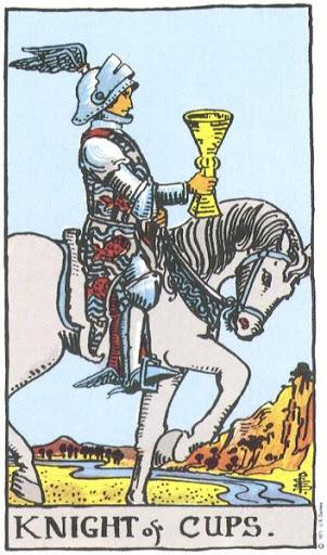 Ý Nghĩa Biểu Tượng 78 Lá Bài Tarot – Knight of Cups