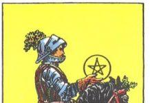 Ý Nghĩa Biểu Tượng 78 Lá Bài Tarot – Knight of Pentacles