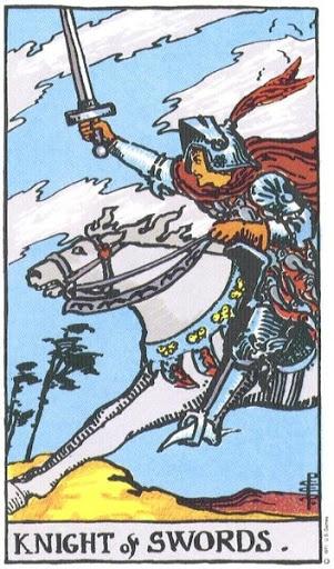Ý Nghĩa Biểu Tượng 78 Lá Bài Tarot – Knight of Swords