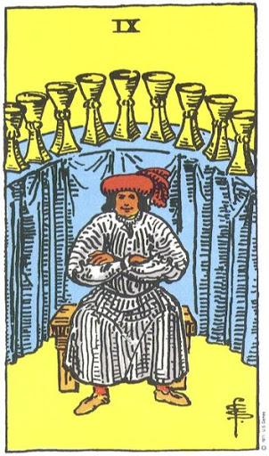 Ý Nghĩa Biểu Tượng 78 Lá Bài Tarot – Nine of Cups