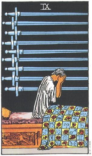 Ý Nghĩa Biểu Tượng 78 Lá Bài Tarot – Nine of Swords