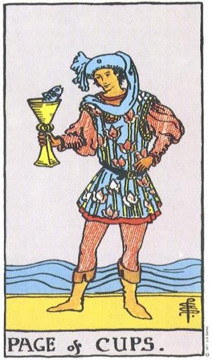 Ý Nghĩa Biểu Tượng 78 Lá Bài Tarot – Page of Cups