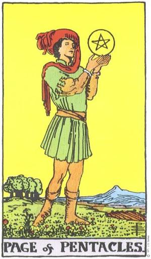 Ý Nghĩa Biểu Tượng 78 Lá Bài Tarot – Page of Pentacles