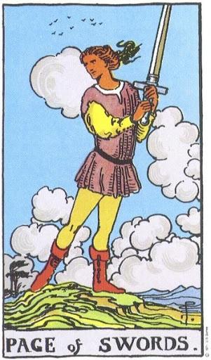 Ý Nghĩa Biểu Tượng 78 Lá Bài Tarot – Page of Swords