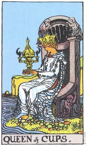 Ý Nghĩa Biểu Tượng 78 Lá Bài Tarot – Queen of Cups