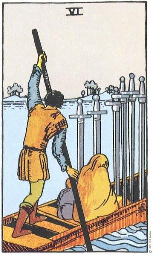 Ý Nghĩa Biểu Tượng 78 Lá Bài Tarot – Six of Swords