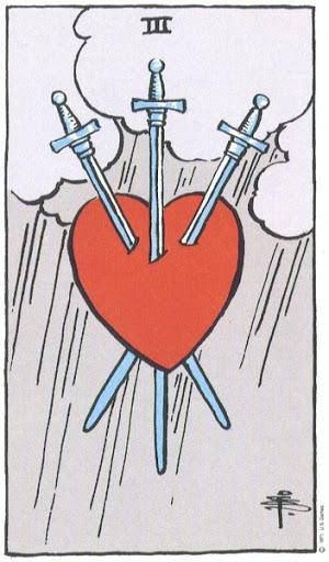 Ý Nghĩa Biểu Tượng 78 Lá Bài Tarot – Three of Swords