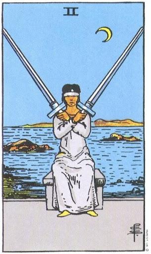 Ý Nghĩa Biểu Tượng 78 Lá Bài Tarot – Two of Swords