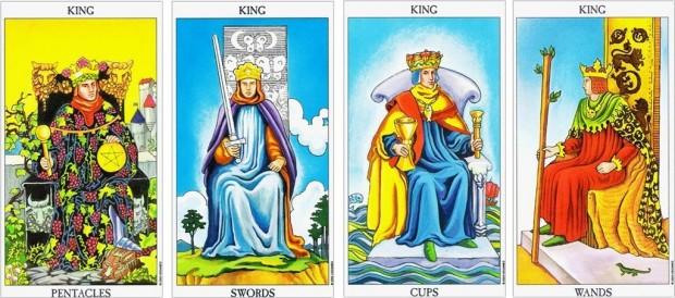 4 Cấp Bậc Hoàng Gia Trong Tarot