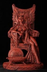 Nữ hoàng Medb với con sóc trên vai