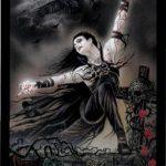 Lá Bài 0. The Fool - Tarot of Vampyres