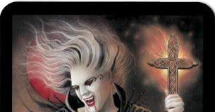 Lá Bài I. The Magician - Tarot of Vampyres