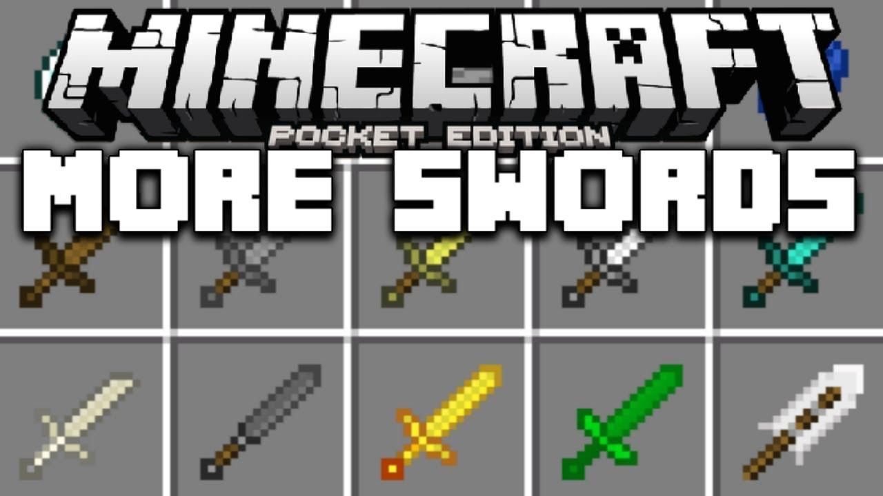 New Swords in Minecraft Pocket Edition (Ultimate Sword ...