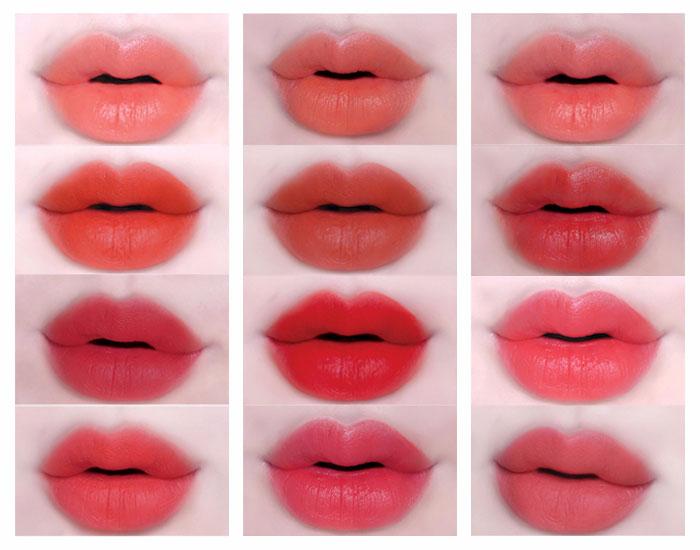 Hướng dẫn chọn màu phun môi phù hợp nhất hiện nay 4
