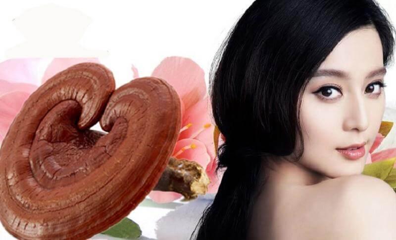 5 tác dụng thần kỳ của nấm linh chi đối với phái đẹp 1