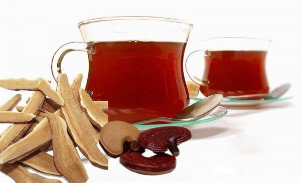 Bí quyết giải độc - thanh nhiệt cơ thể cùng trà nấm linh chi 2