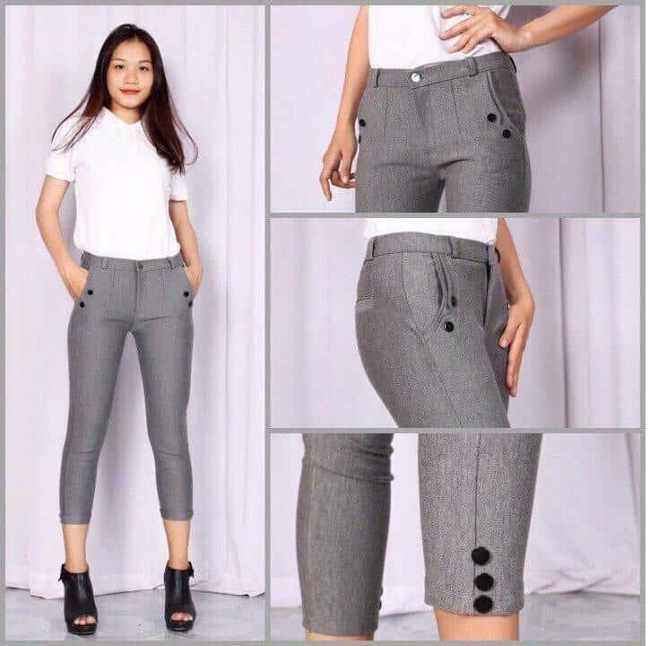 Mẫu quần skinny nữ đẹp, rẻ, bán chạy nhất hiện nay 2